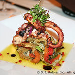 Grilled Octopuss Menu Selection