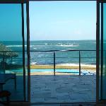 View of the ocean from the liv. room