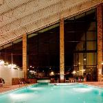 Take a dip in our indoor heated pool!