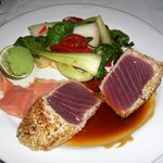 Pan Seared Tuna at Atlantic Fish Boston
