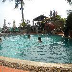 Uno sguardo sulla piscina