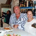 Le Directeur General avec son Chef de Cuisine Mme Vaya