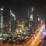 night view of SZR from room 3903
