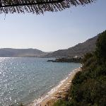 Veiw from Taverna Pefkos Beach