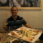 antipasto di sushi mediterraneo