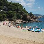 St Francesc beach