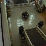 aerial view of the lobby area!!