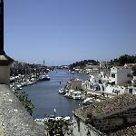 the port in Cuitadella