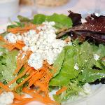 green salad is included with lunch entree