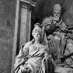 Statues inside of St.Peter Cathedral
