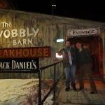 If you want an excellent meal - head on over to the Wobbly Barn!