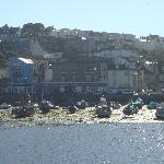 Brixham Harbour Town View