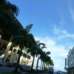 sea view sandakan budget hotel backpackers