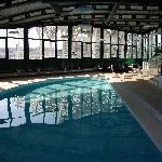 The Oriente's indoor pool