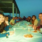Pasta Party on the Wonderful Terrace