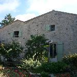 Façcade de la maison donnant sur la cour