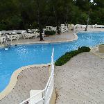 Una de las piscinas alargadas
