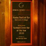 seafood bar of the year 2010