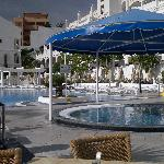bigger pool on site