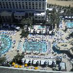 Pool view from the 27th floor!