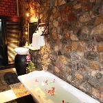 luxury bathtub, rain shower - Petit Villa Boutique & Spa