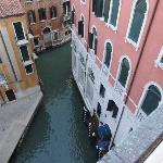 vista de uno de los canales desde la habitacion