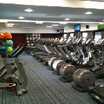lovely quiet gym