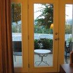 View of Patio Thru Room Door