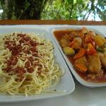 Carbonara & Fish Fillet