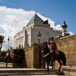 Das Mausoleum Mohammad V. in Rabat