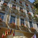 Adria Hotel Prague exterior