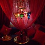 B&B Villa Magnolia - 1001 Nacht Oriental Romance am Zürichsee im Romantikzimmer ORIENT