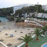 Beach from balcony