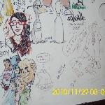 a cartoonists bar