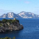 Capri as seen from our room