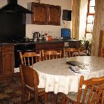 cozy kitchen downstairs