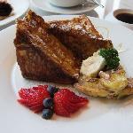 朝食・フレンチトースト