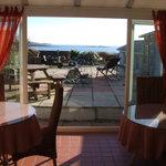 Breakfast room with stunnig views
