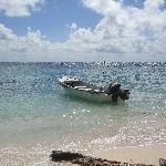 View from the hidden beach
