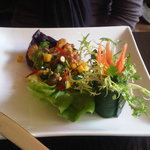 Crispy Sea Bass Salad- Scrumptious!