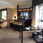 Corner suite from Bedroom