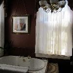 Hot Tub in Desiree Room