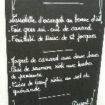 €23.00 menu