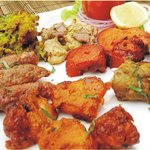 Tandoori Platter its a steal you get to taste almost each and every dish on the tandoori menu
