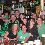 Some of the crew from a recent St. Patricks Day. Jamieson's Irish House & Grill, Dartmouth, NS.