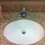 clean nice sink