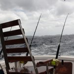 'Torture' Chair on board the Wayward Wind Fishing Boat