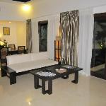 Living area - One Bedroom Villa