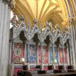Tapestries in the Choir Stalls