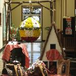 Floral display in Hotel Riu Palace, flower festival week